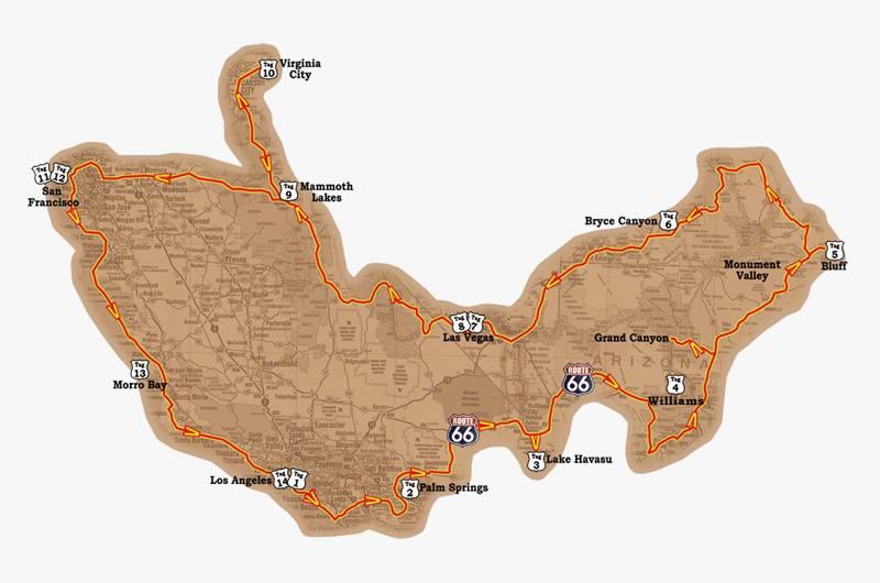 jc biketravel map canyon run